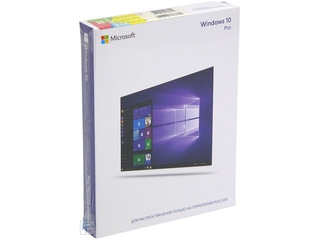 Программное обеспечение Windows 10 Professional 32-bit/ 64-bit Russian Only USB BOX